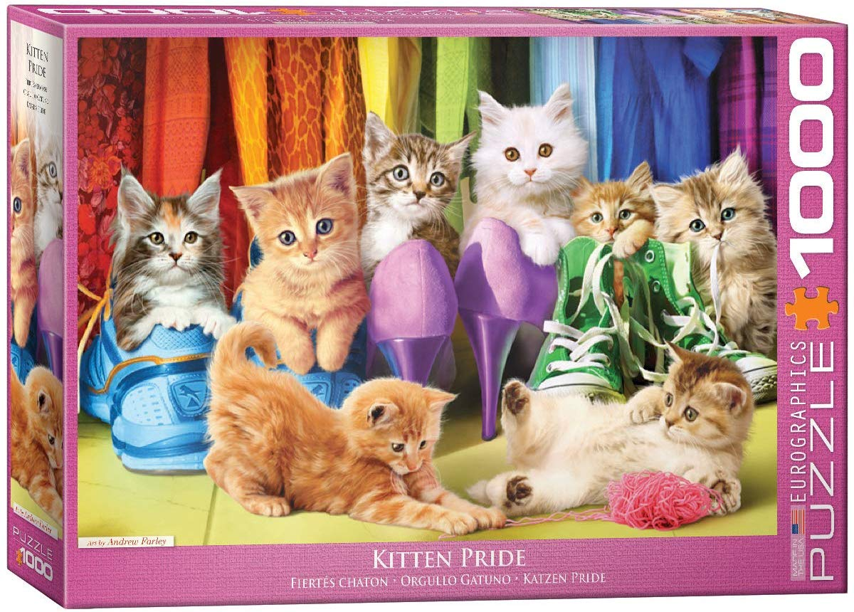 Kitten Pride Cats Jigsaw Puzzle
