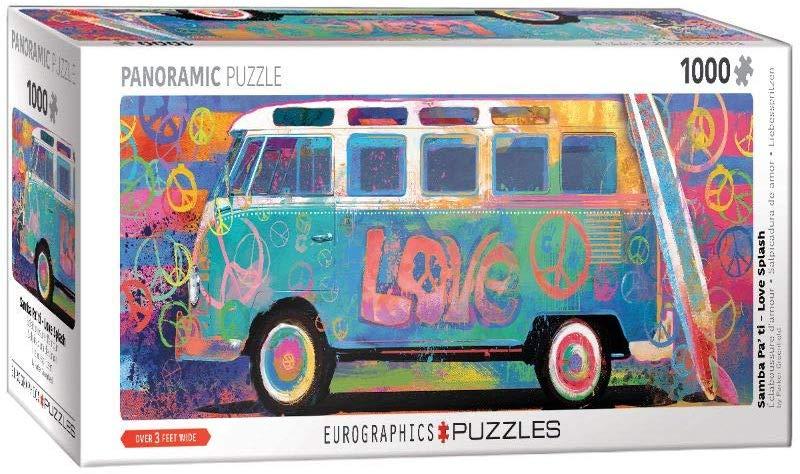 Love Splash Cars Jigsaw Puzzle
