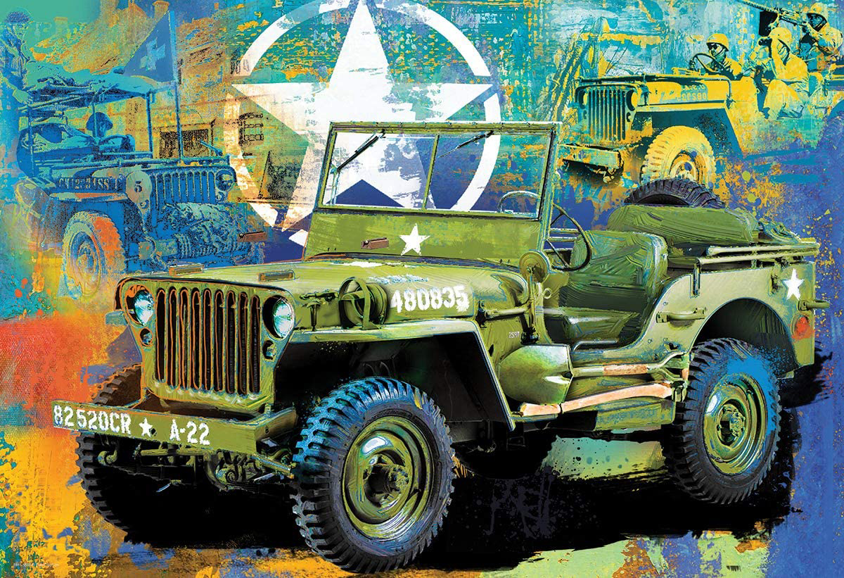 Military Jeep Vehicles Jigsaw Puzzle