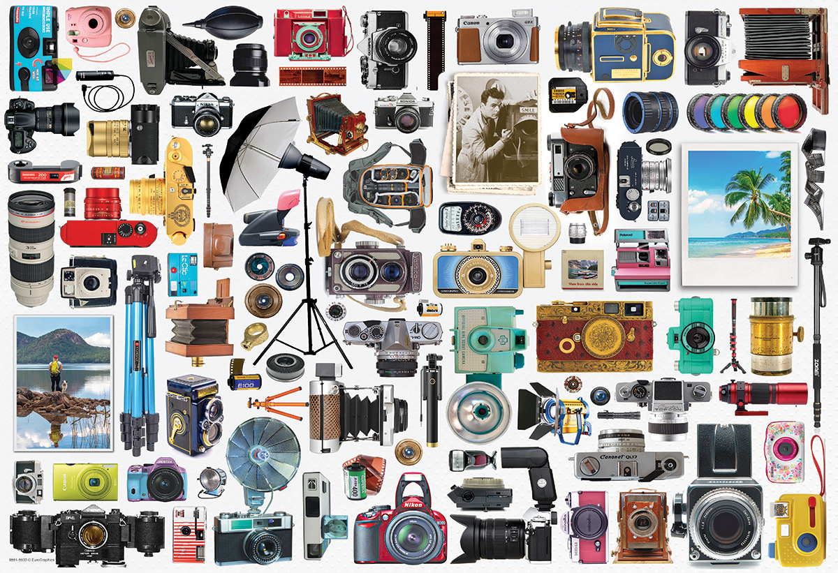 Classic Camera Photography Jigsaw Puzzle