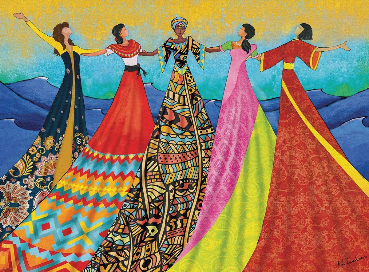 Harmony Cultural Art Jigsaw Puzzle