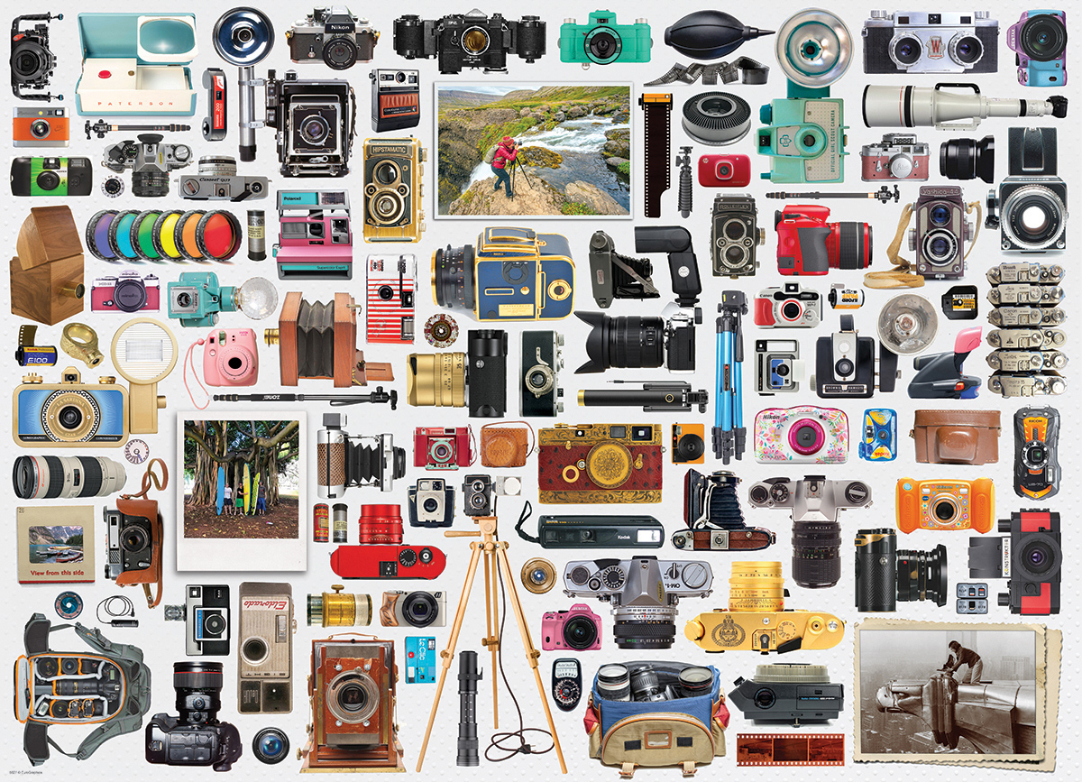 World of Cameras Photography Jigsaw Puzzle
