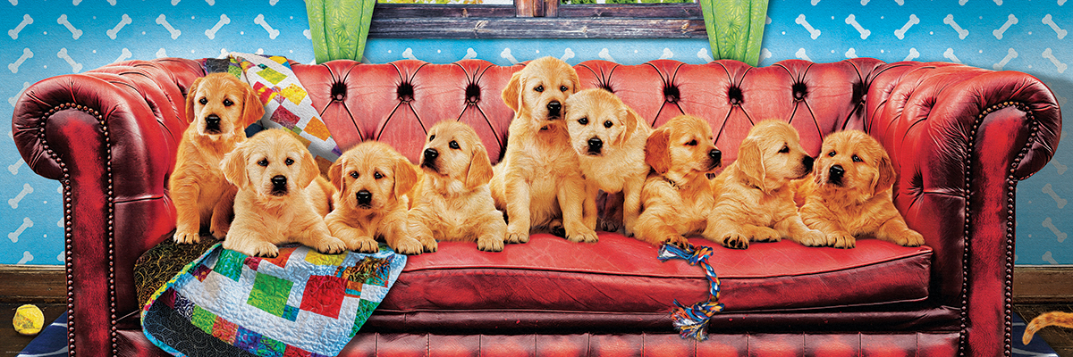 Lounging Labs Dogs Jigsaw Puzzle