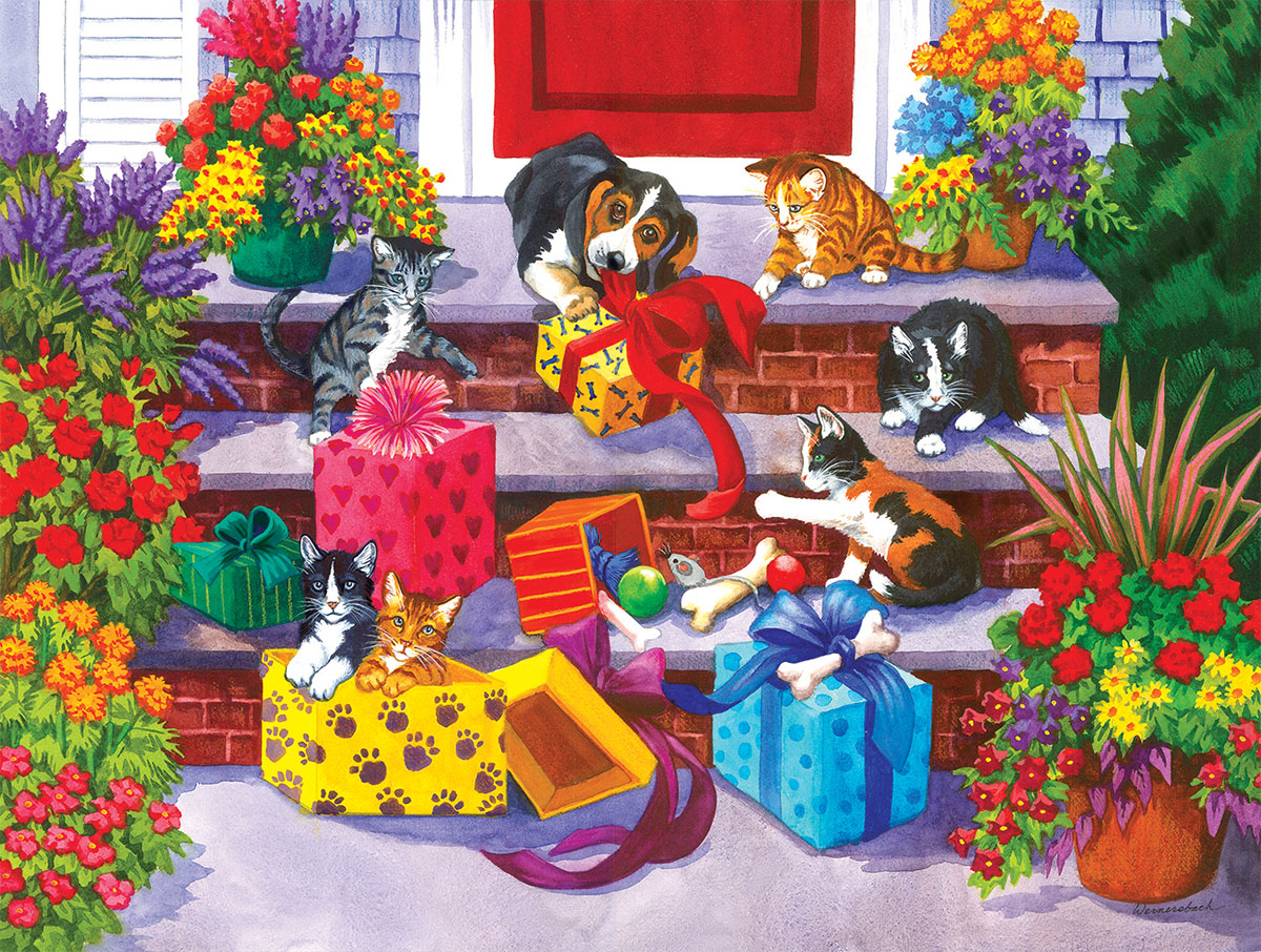 Time for Toys and Treats Animals Jigsaw Puzzle