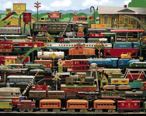 All Aboard! Trains Jigsaw Puzzle