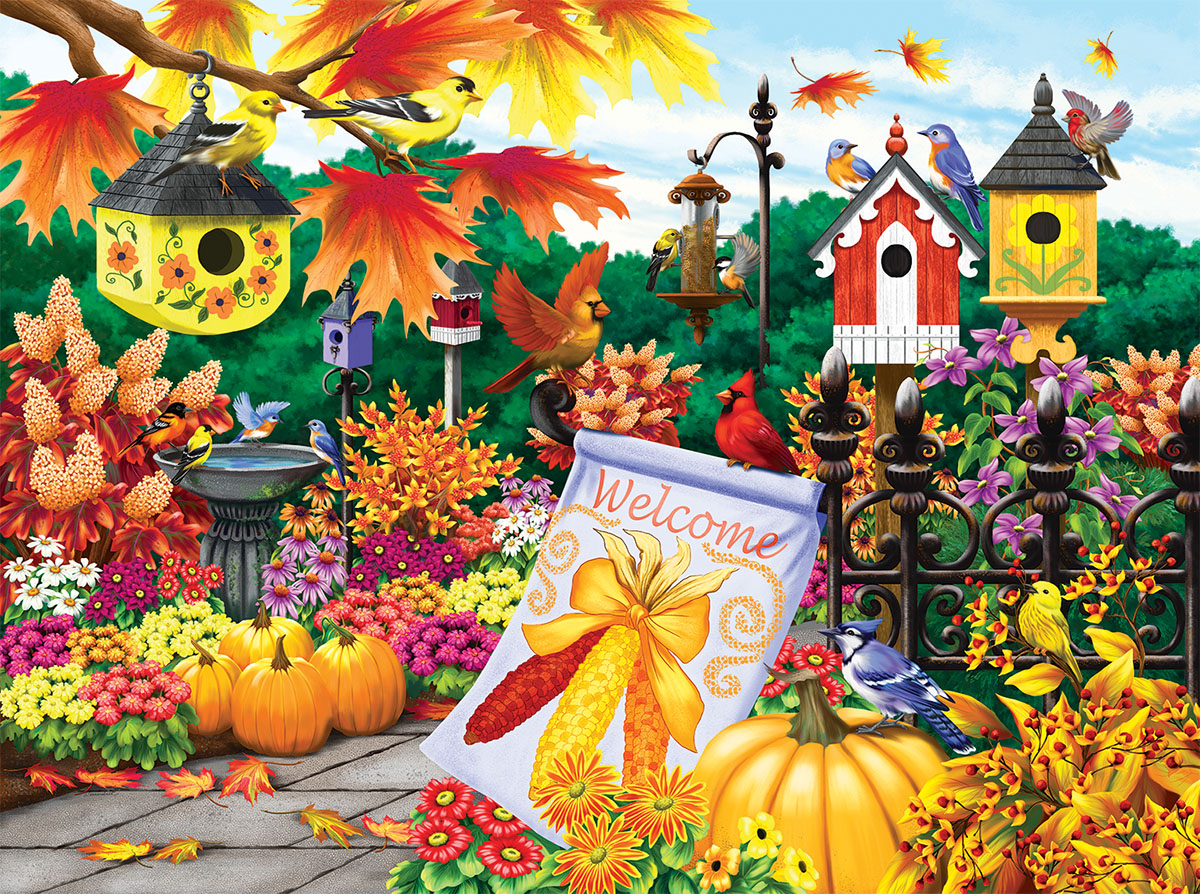 Welcome Autumn Fall Jigsaw Puzzle