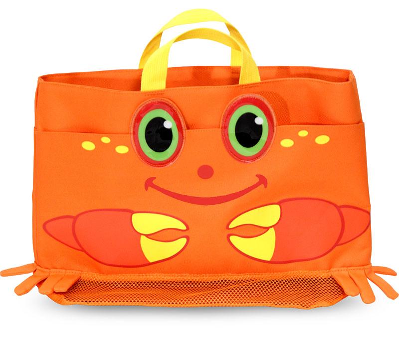 Clicker Crab Beach Tote Bag