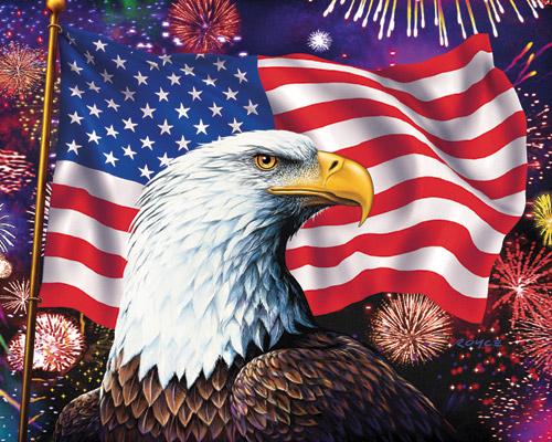Celebration Fourth of July Jigsaw Puzzle