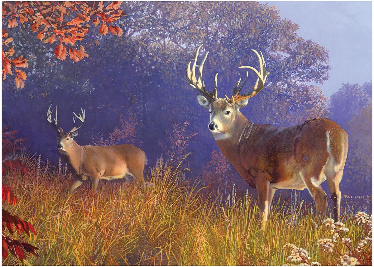 Deer Scene Animals Jigsaw Puzzle