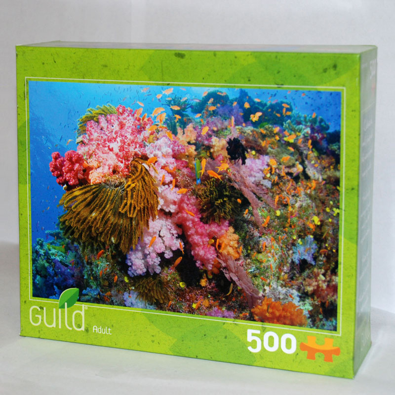 Tropical Coral Reef Jigsaw Puzzle