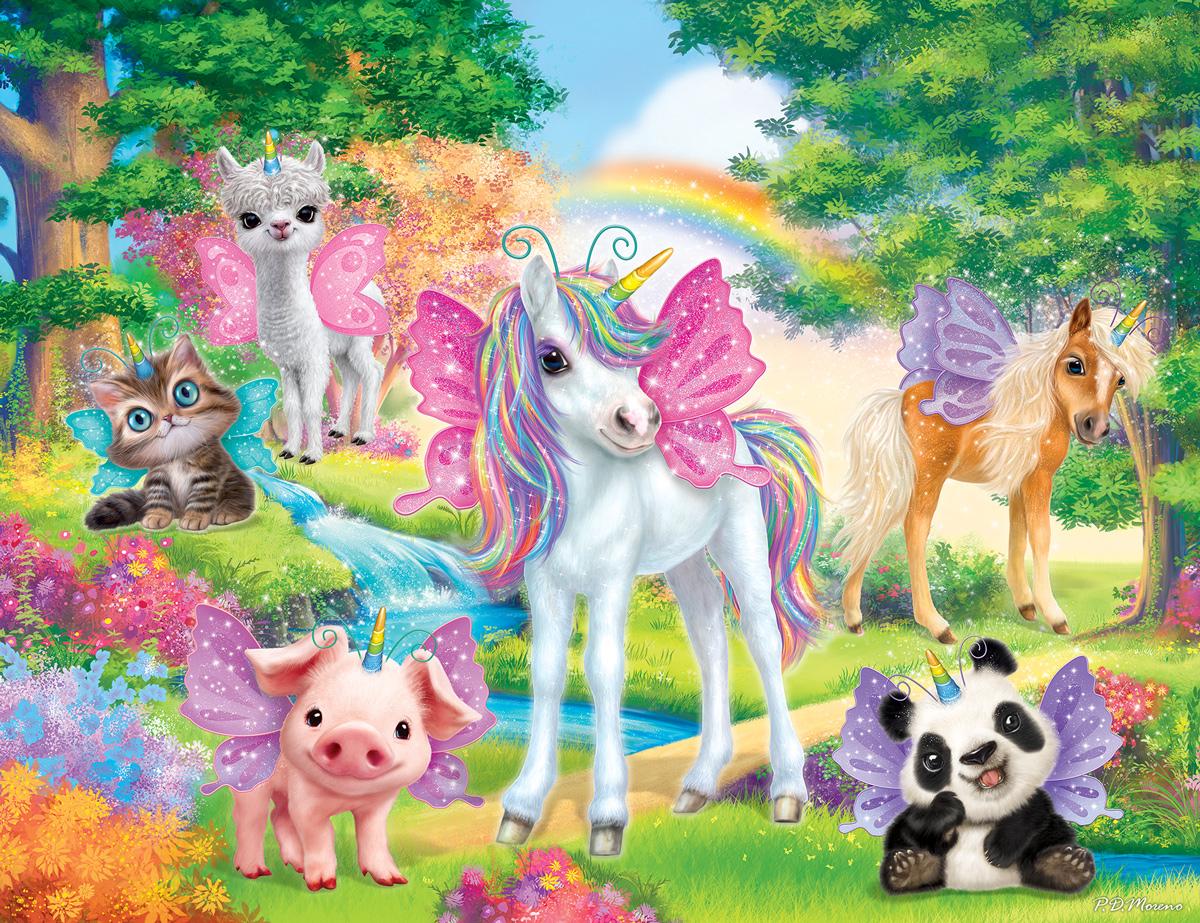 Animal Club Unicorn Animals Jigsaw Puzzle