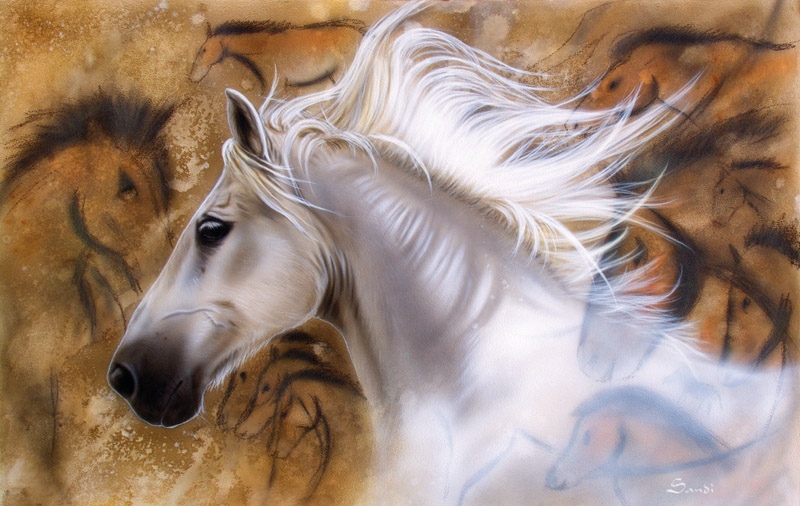 The Source Horses Jigsaw Puzzle