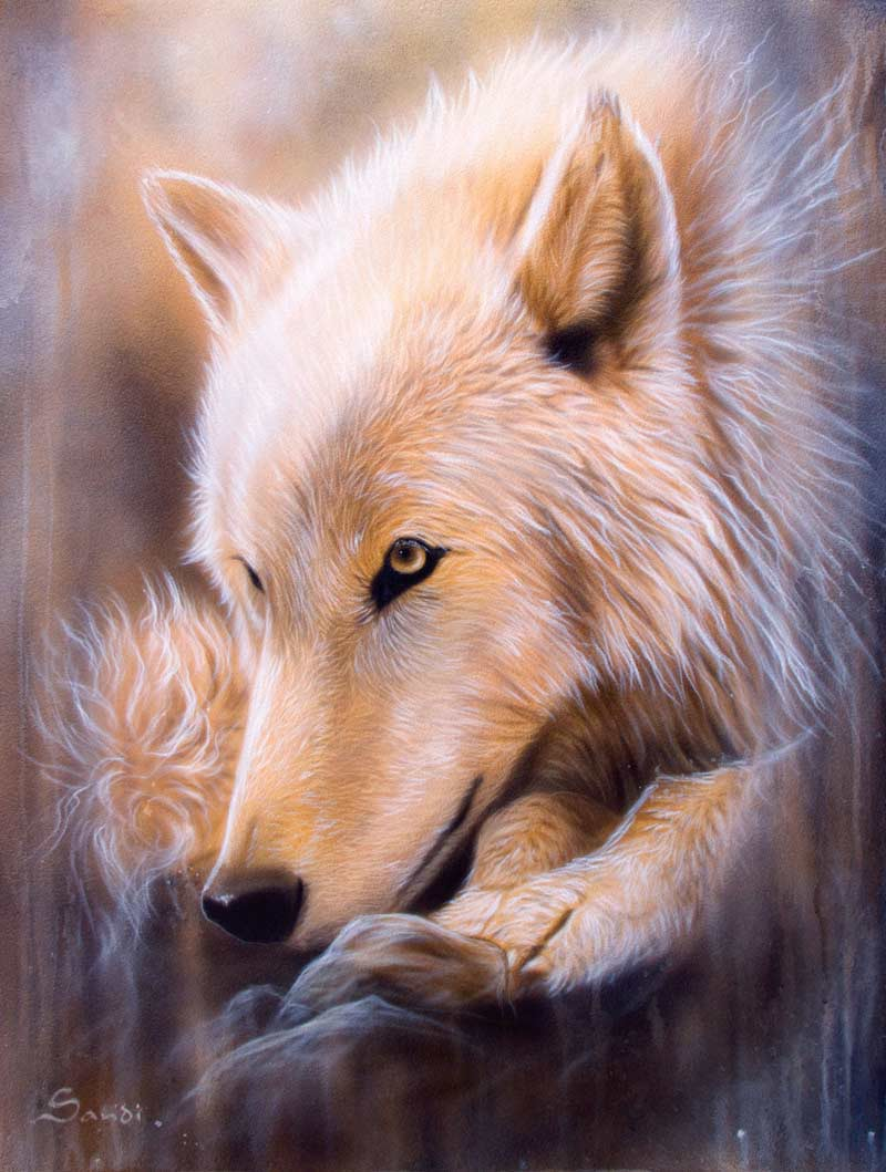 Dreamscape Wolf Wolves Jigsaw Puzzle