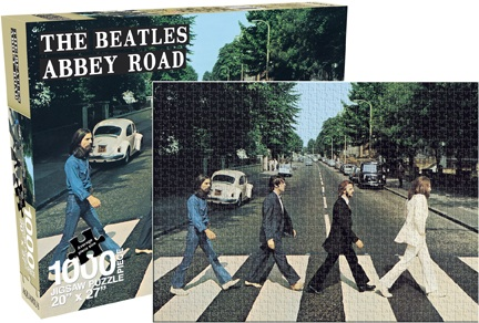Beatles - Abbey Road Famous People Jigsaw Puzzle