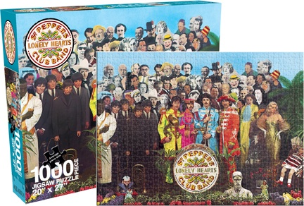 Beatles - Sgt. Pepper Famous People Jigsaw Puzzle