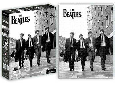 Beatles - Street Famous People Jigsaw Puzzle