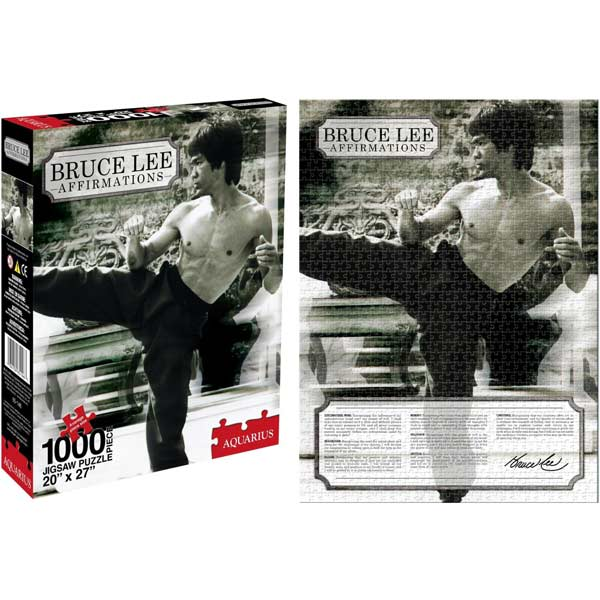Bruce Lee - Affirmations Famous People Jigsaw Puzzle