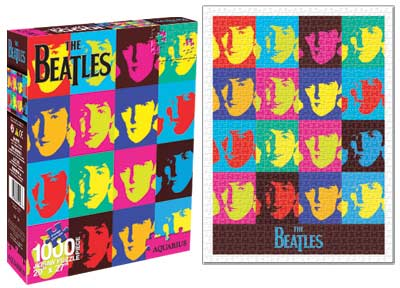 Beatles - Pop Art Music Jigsaw Puzzle