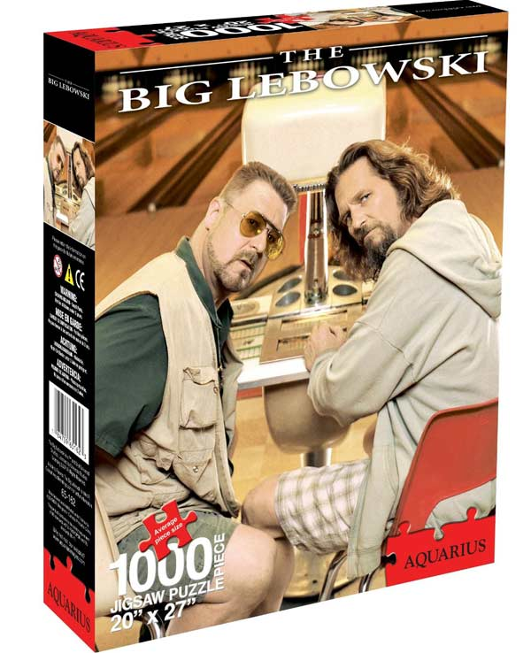 Big Lebowski Movies / Books / TV Jigsaw Puzzle