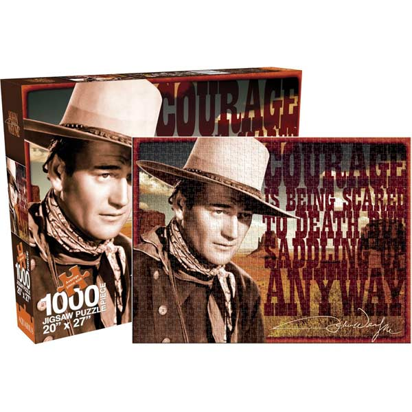 John Wayne - Courage Movies / Books / TV Jigsaw Puzzle