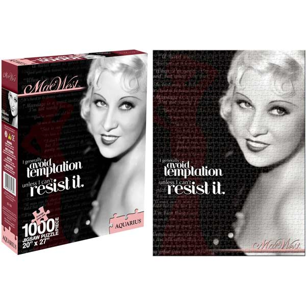 Mae West Movies / Books / TV Jigsaw Puzzle