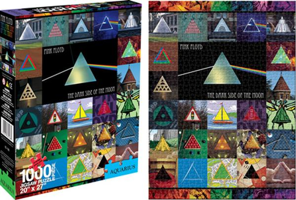 Pink Floyd - Dark Side of the Moon Collage Music Jigsaw Puzzle
