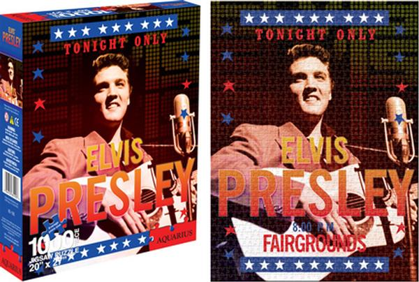 Elvis - 56 Famous People Jigsaw Puzzle
