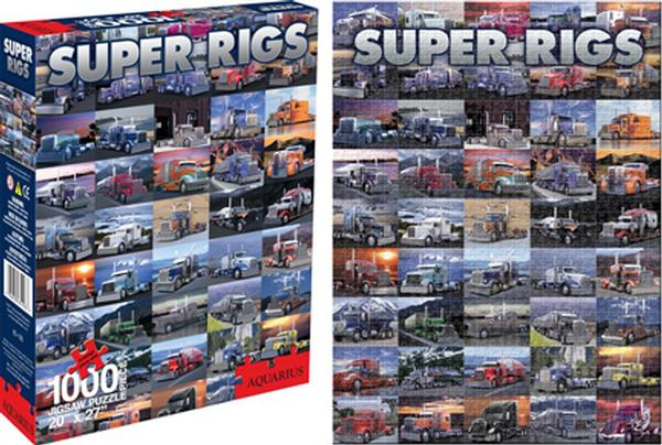 Super Rigs Vehicles Jigsaw Puzzle