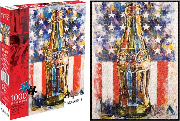 Coca Cola Art Coca Cola Jigsaw Puzzle