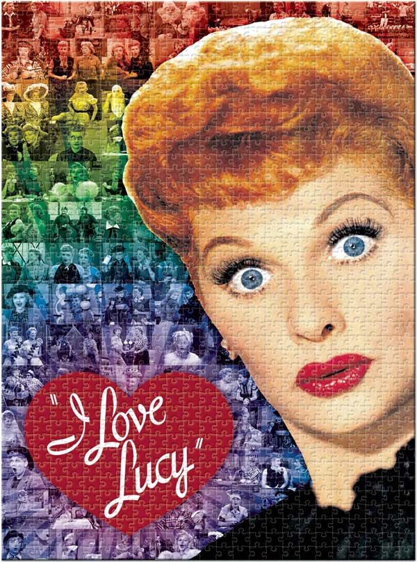 I Love Lucy - Collage Collage Jigsaw Puzzle