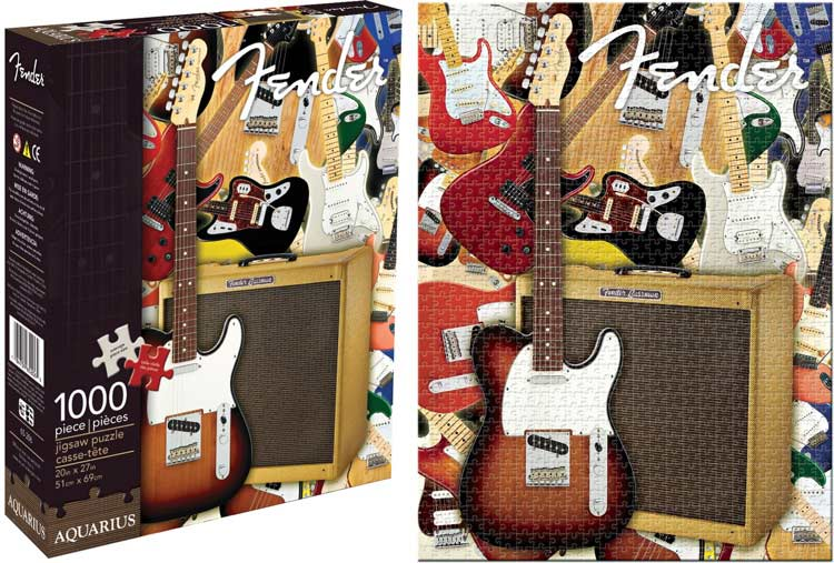 Fender - Collage Collage Jigsaw Puzzle