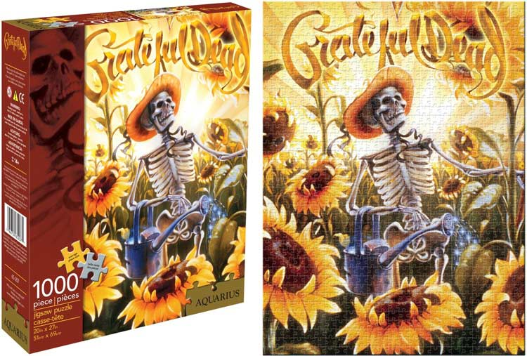 Grateful Dead Grower Famous People Jigsaw Puzzle