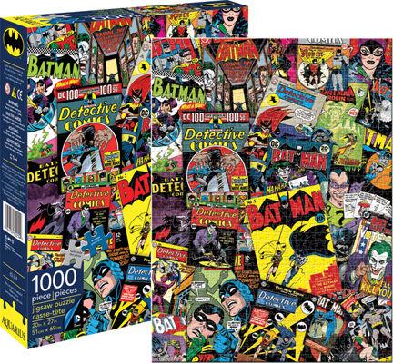 DC Batman Collage Cartoons Jigsaw Puzzle