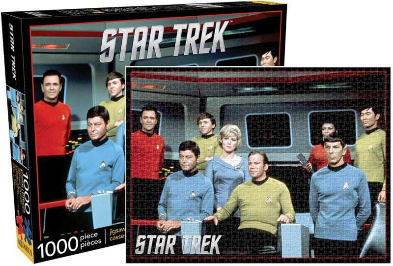 Star - Trek Cast Famous People Jigsaw Puzzle