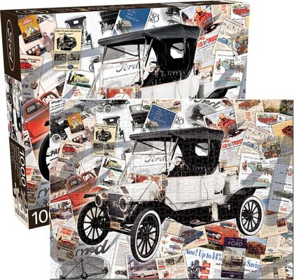 Ford - Heritage Cars Jigsaw Puzzle