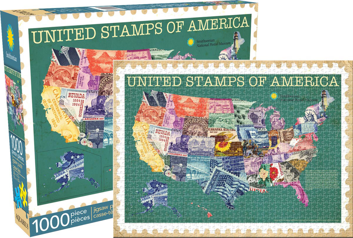 Smithsonian (Smithsonian) - United Stamps Everyday Objects Jigsaw Puzzle