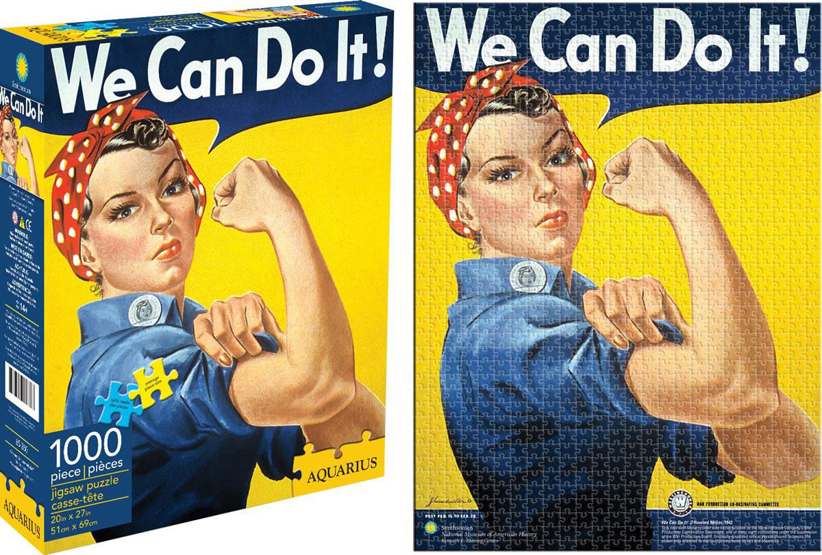 rosie the riveter smithsonian jigsaw puzzle. Black Bedroom Furniture Sets. Home Design Ideas