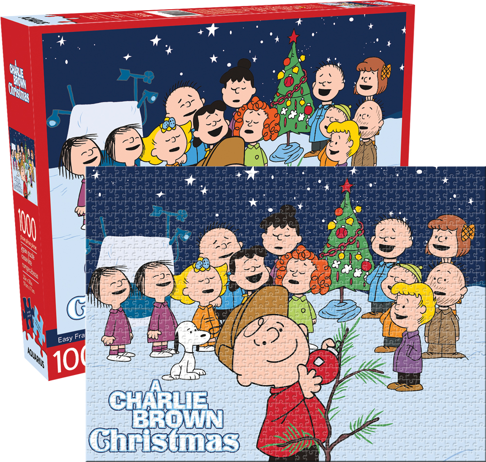 Peanuts Charlie Brown Christmas Cartoons Jigsaw Puzzle