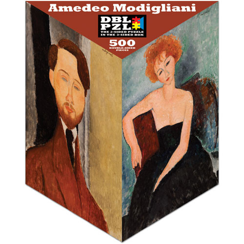 Amedeo Modigliani People Jigsaw Puzzle