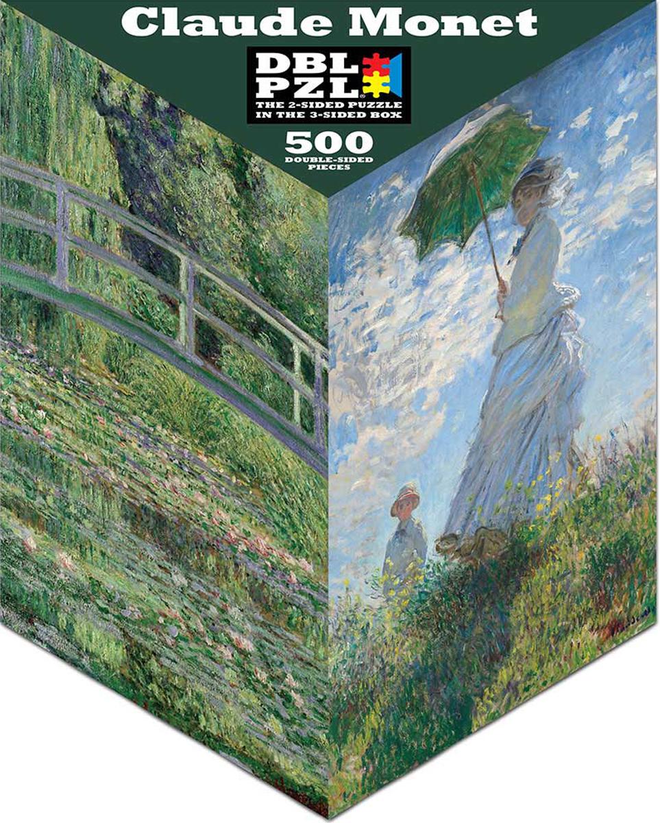 Claude Monet Bridges Jigsaw Puzzle