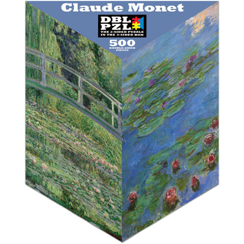 Claude Monet Flowers Jigsaw Puzzle