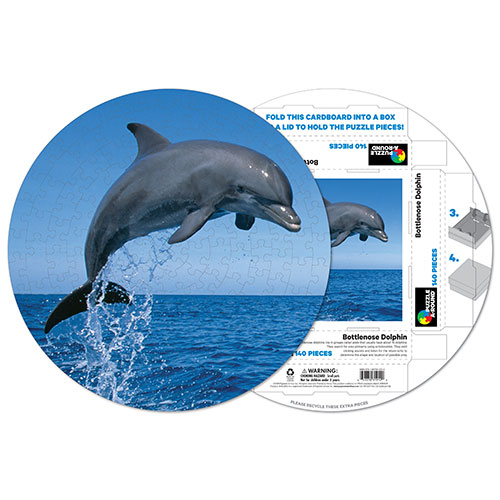 Bottlenose Dolphin Photography Jigsaw Puzzle