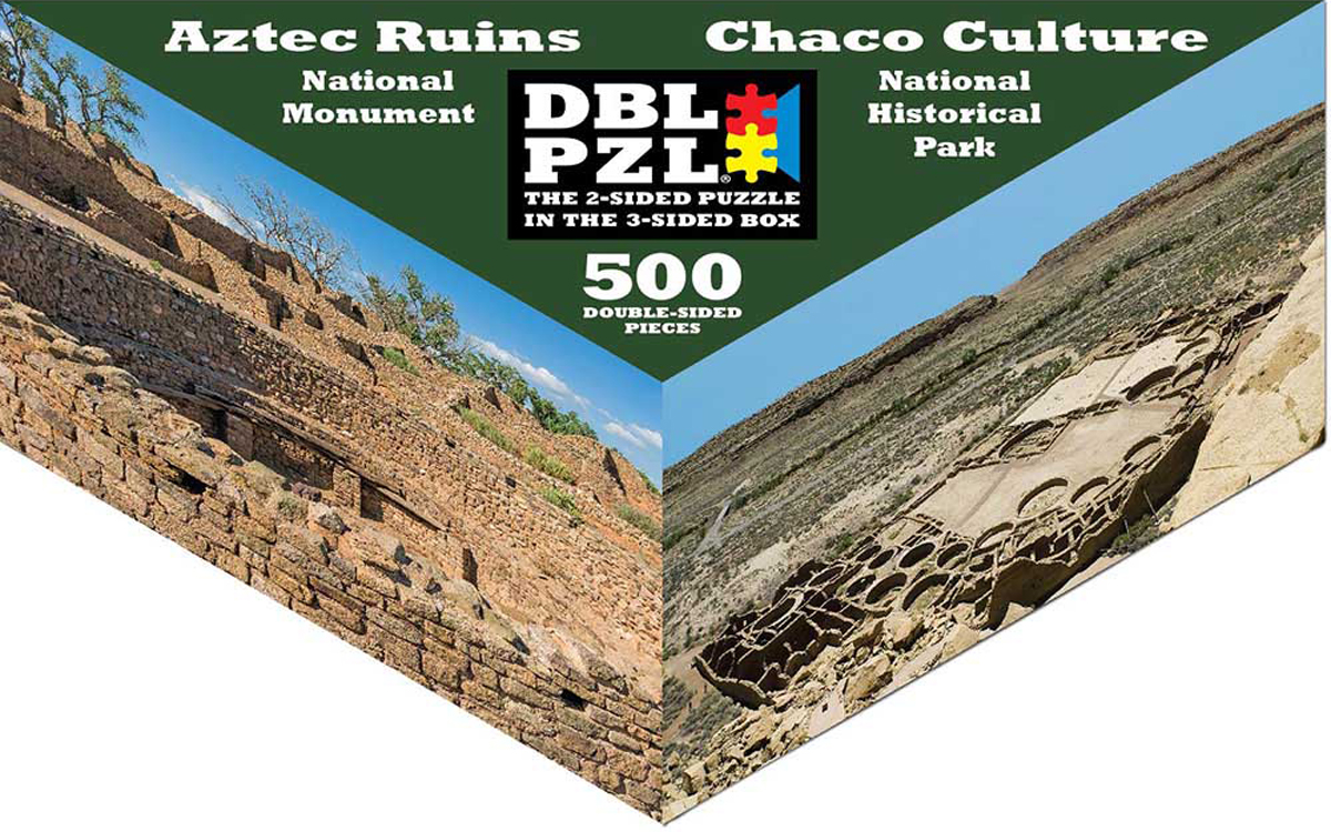 Aztec Ruins, Chaco Culture Travel Jigsaw Puzzle