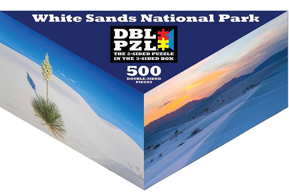 White Sands National Park Beach Jigsaw Puzzle