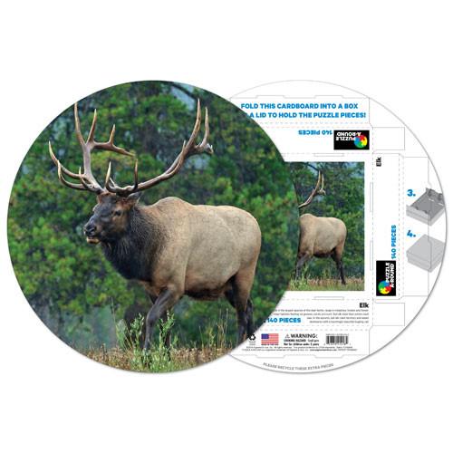 Elk Animals Shaped Puzzle