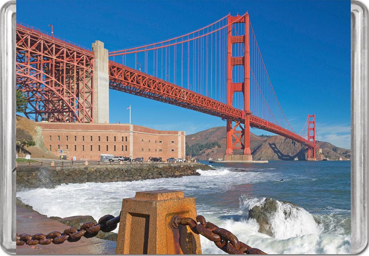 Golden Gate Bridge MiniPix® Puzzle Landmarks / Monuments Jigsaw Puzzle