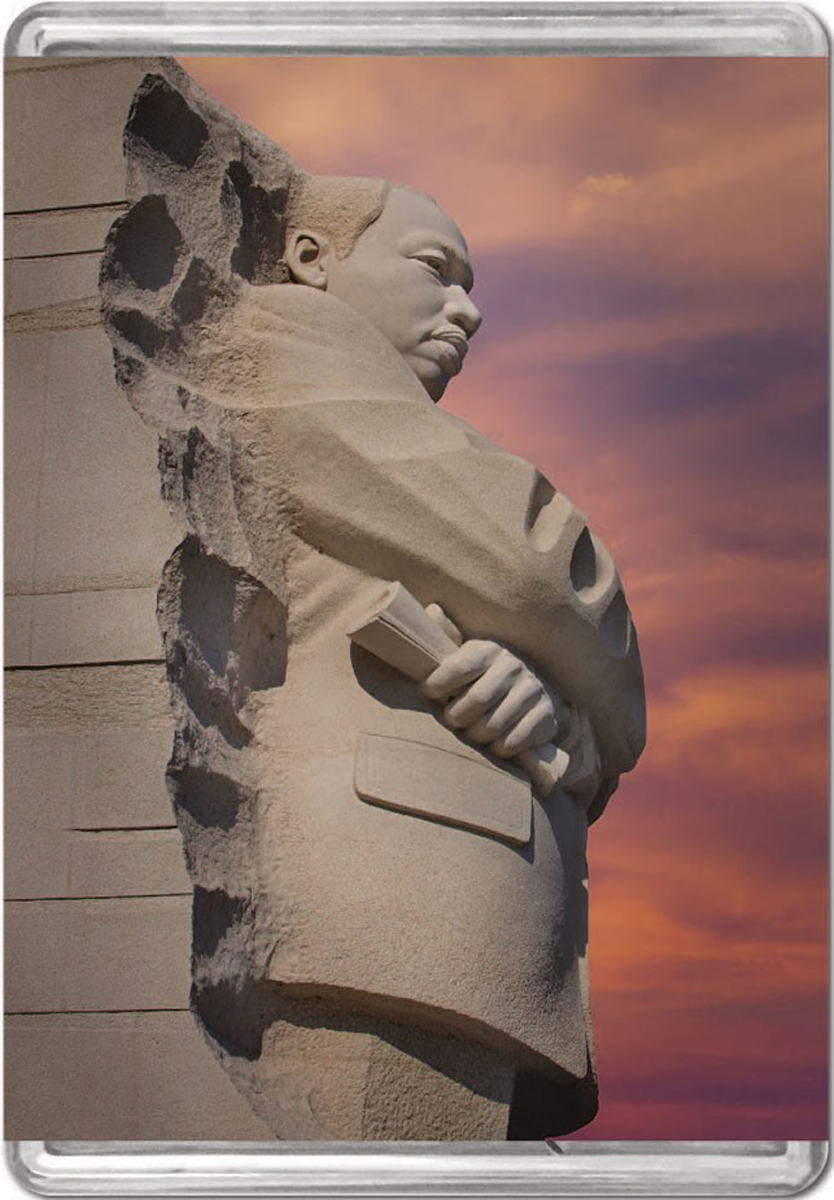 Martin Luther King, Jr. Memorial MiniPix® Puzzle Famous People Jigsaw Puzzle