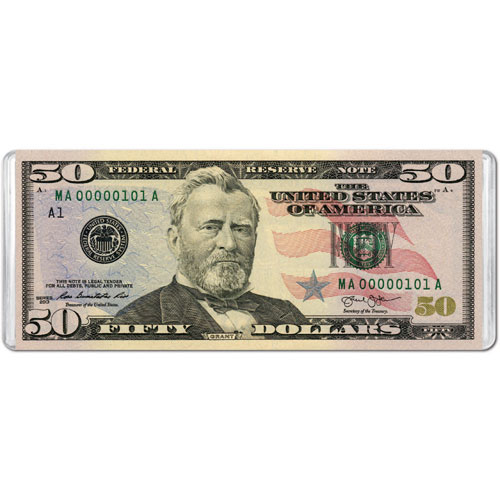 $50 Banknote (Mini) History Jigsaw Puzzle