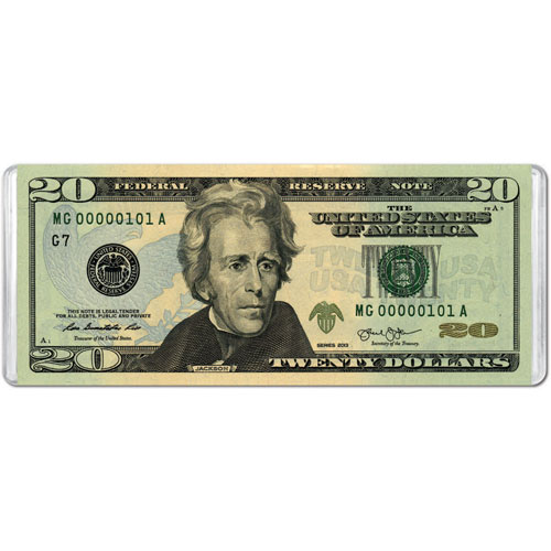 $20 Banknote (Mini) History Jigsaw Puzzle