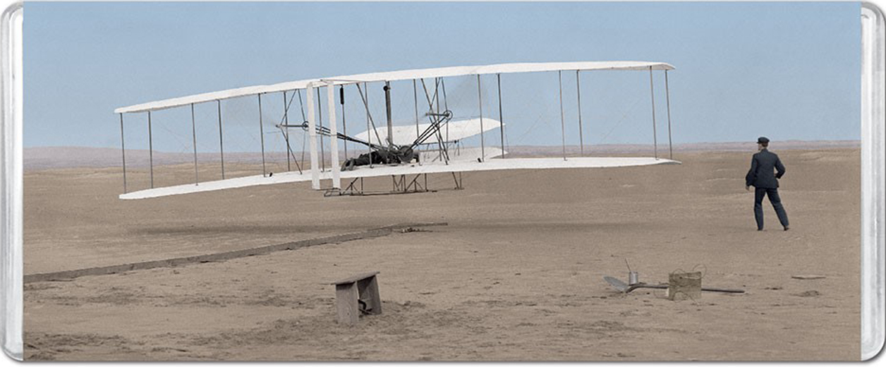Wright Brothers National Memorial MiniPix® Puzzle Planes Jigsaw Puzzle